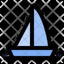 Boat Summer Beach Icon