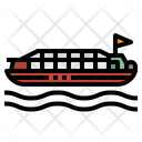 Boat Ferry Ship Icon