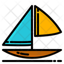 Boat Summer Beach Icon