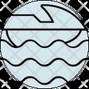 Summer Boat Sea Icon