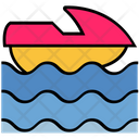 Summer Boat Sea Icon