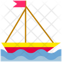 Summer Boat Ship Icon
