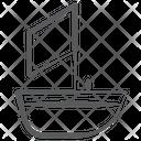 Ship Yacht Sailboat Icon