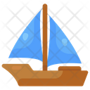 Boat Watersports Adventure Icon