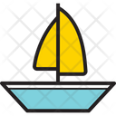 River Sailing Icon