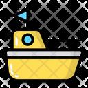Boat Sea Water Icon