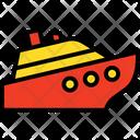 Boat Cruise Sailing Icon
