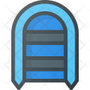 Boat Fisshing Fittness Icon