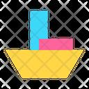 Icon Boat Abstract Primitive Icon