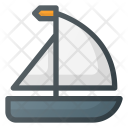 Boat Sail Tourism Icon