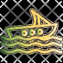 Boat Summer Sea Icon
