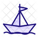 Boat Sea Travel Icon