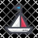 Boat Ship Sea Icon