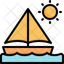 Boat Sea Holiday Icon