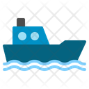 Boat Transport Ferry Sea Water Tranfer Ship Icon