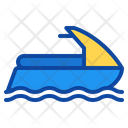 Scooter Water Sports Speed Sea Motor Icon