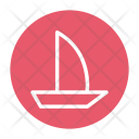 Boat And Oar Icon