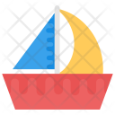Boat Color Water Icon