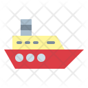 Boat Transport Cruise Icon