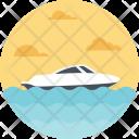 Shipment Boat Speeding Icon