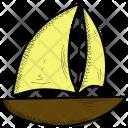 Boat Sail Sea Icon