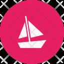 Boat Sail Yacht Icon