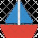 Travel Flat Nautical Transport Icon
