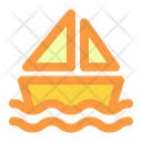 Boat Summer Vacation Icon