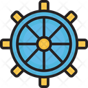 Boat Controller Boat Steering Boat Wheel Icon