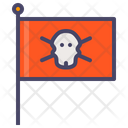 Ship Sail Flag Icon