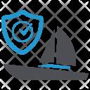 Boat Insurance Icon