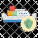 Insurance Shipping Transportation Icon