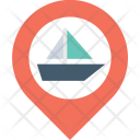 Boat location Icon
