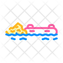 Boat Rafting Icon