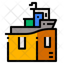 Boat Shipping Icon