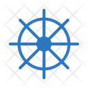 Boat Wheel Ship Icon
