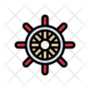 Wheel Steering Boat Icon