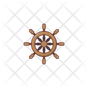 Boat Wheel Boat Wheel Icon