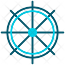 Boat Wheel Icon