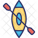 Boating Rafting Row Boat Icon