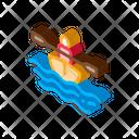 Kayak Boat Canoe Icon