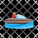 Boating Human Activity Icon