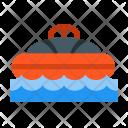 Boating lifebuoy Icon