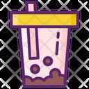 Boba Boba Drink Bubble Tea Icon