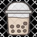 Boba Tea Bubble Tea Bubble Icon
