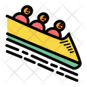 Bobsleigh Bobsled Winter Icon