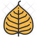 Bodhi Leaf Greenery Icon