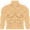 Body Builder Anatomy Body Icon