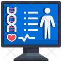 Body Check Up Check Blood Pressure Check Up Icon