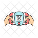 Body Fat Monitor Icon